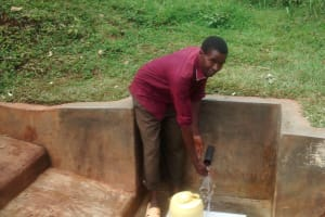 The Water Project: Wamuhila Community, Isabwa Spring -  Daudii Sabwa