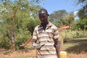 The Water Project: Mbindi Community C -  Francis Nzioki