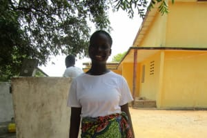 The Water Project: Tintafor, Officer's Quarters Community -  Sarah M Turay
