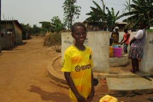The Water Project: Tintafor, Police Barracks C-Line Community -  Fatmata Sesay