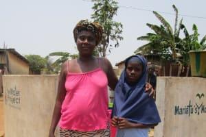 The Water Project: Tintafor, Police Barracks C-Line Community -  Salamatu Sesay