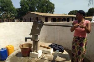 The Water Project: Benke Community, Brima Lane -  Clean Water