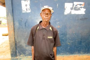The Water Project: St. John RC Primary School -  Mr Joseph Solomon Koroma