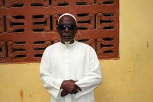 The Water Project: Kitonki Community A -  Pa Ibrahim Sorie Mansaray