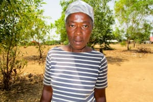 The Water Project: Royema MCA School and Community -  Mrs Fatmata Sesay