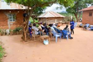 The Water Project: Kivani Community C -  Training