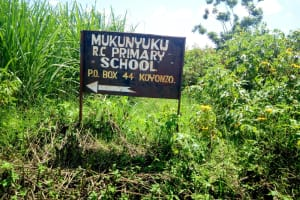 The Water Project: Mukunyuku RC Primary School -  On The Way To The School