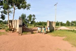 The Water Project: Eshikufu Primary School -  School Entrance