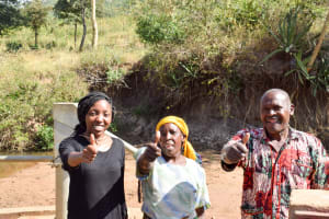 The Water Project: Ilinge Community C -  A Year With Water