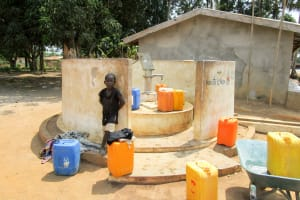 The Water Project: Malokoh Community, #4 Mabesseneh Road -  A Year With Water