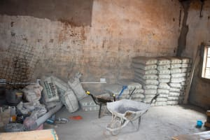The Water Project: Katuluni Primary School -  Construction Materials