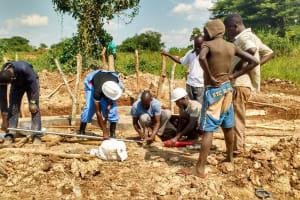 The Water Project: Kyamudikya Community -  Pump Installation