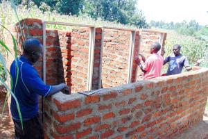 The Water Project: Emukangu Primary School, Shibuli -  Latrine Construction