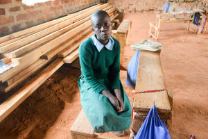 The Water Project: Nzalae Primary School -  Faith Mwende
