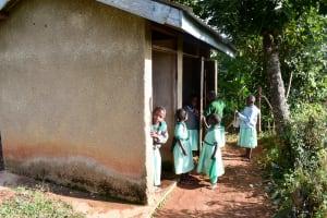 The Water Project: Eshikufu Primary School -  Latrine