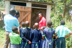 The Water Project: Shitsava Primary School -  Latrine Management Training