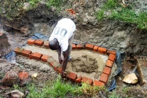 The Water Project: Luvambo Community, Tindi Spring -  Spring Foundation