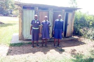 The Water Project: Mukunyuku RC Primary School -  Latrines