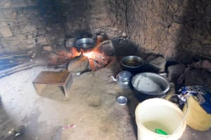 The Water Project: Mukunyuku RC Primary School -  Kitchen Area