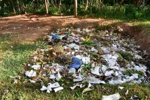 The Water Project: Eshikufu Primary School -  Garbage