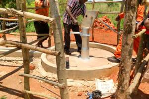 The Water Project: Pakanyi Gwoki Community -  Pump Installation