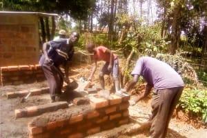 The Water Project: Shitsava Primary School -  Latrine Construction