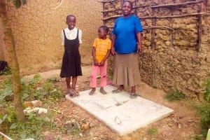 The Water Project: Luvambo Community, Tindi Spring -  Sanitation Platform