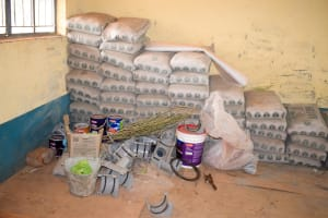 The Water Project: Katalwa Primary School -  Cement To Be Used For Tank