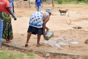 The Water Project: Kyamatula Primary School -  Tank Construction