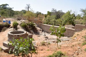 The Water Project: Katalwa Community A -  Well And Dam Progress