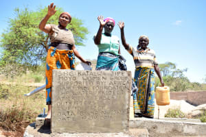 The Water Project: Katalwa Community A -  Finished Well