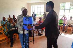 The Water Project:  Giving Handwashing Stations To The Community