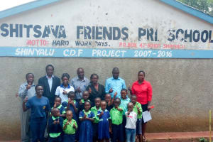 The Water Project: Shitsava Primary School -  Training Participants