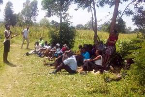 The Water Project: Luvambo Community, Tindi Spring -  Training