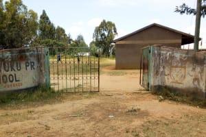 The Water Project: Mukunyuku RC Primary School -  School Entrance