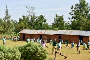 The Water Project: Eshikufu Primary School -  School Grounds