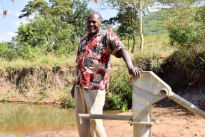 The Water Project: Ilinge Community C -  Nicholas Kitusa
