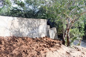 The Water Project: Mbau Community -  Finished Sand Dam