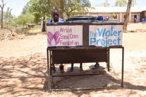 The Water Project: Kyamatula Primary School -  Handwashing Stations
