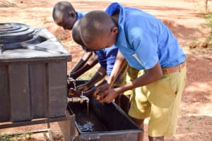 The Water Project: Katalwa Primary School -  Handwashing Stations