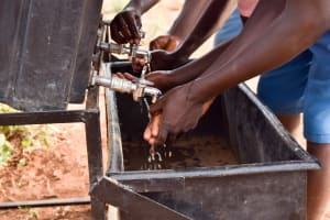 The Water Project: Katuluni Primary School -  Handwashing Stations
