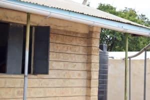 The Water Project: Wee Primary School -  Gutter System