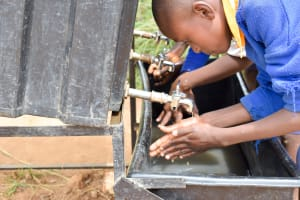 The Water Project: Wee Primary School -  Handwashing Stations