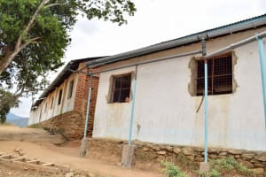 The Water Project: Kithumba Primary School -  Gutter System