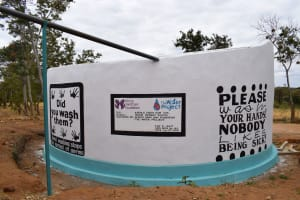 The Water Project:  Finished Tank