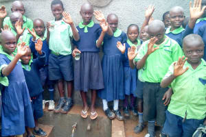 The Water Project: Shitsava Primary School -  Finished Tank