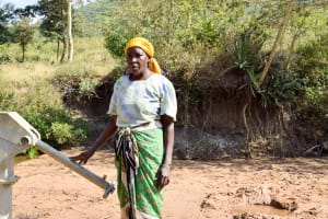 The Water Project: Ilinge Community C -  Regina Nzau