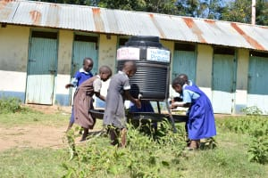 The Water Project: Ngaa Primary School -  A Year With Water