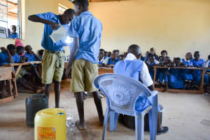 The Water Project: Katalwa Primary School -  Training