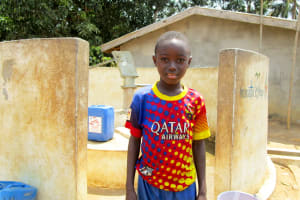 The Water Project: Malokoh Community, #4 Mabesseneh Road -  Ibrahim Kamara